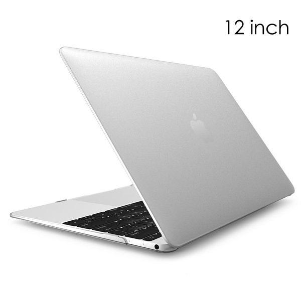 """Image of   MacBook 12"""" - Klar Transparent Hard Cover - Hvid"""