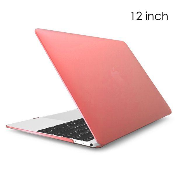 """Image of   MacBook 12"""" - Klar Transparent Hard Cover - Lyserød"""