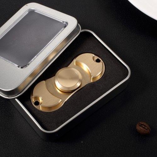 Fidget spinner - metal/alu - Guld