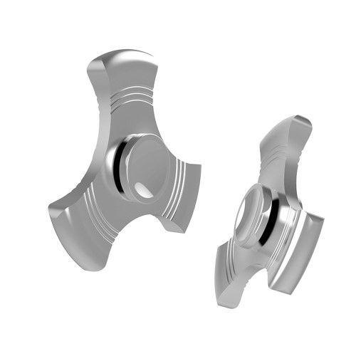 Fidget spinner - Nice design - Sølv