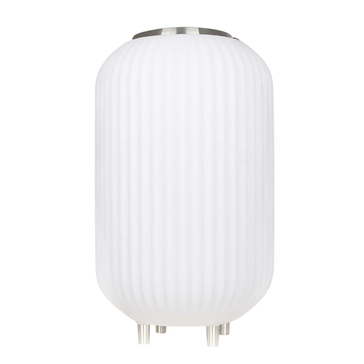 The.Lampion M – Lampe med indbygget Bluetooth Højttaler & Vinkøler – Hvid