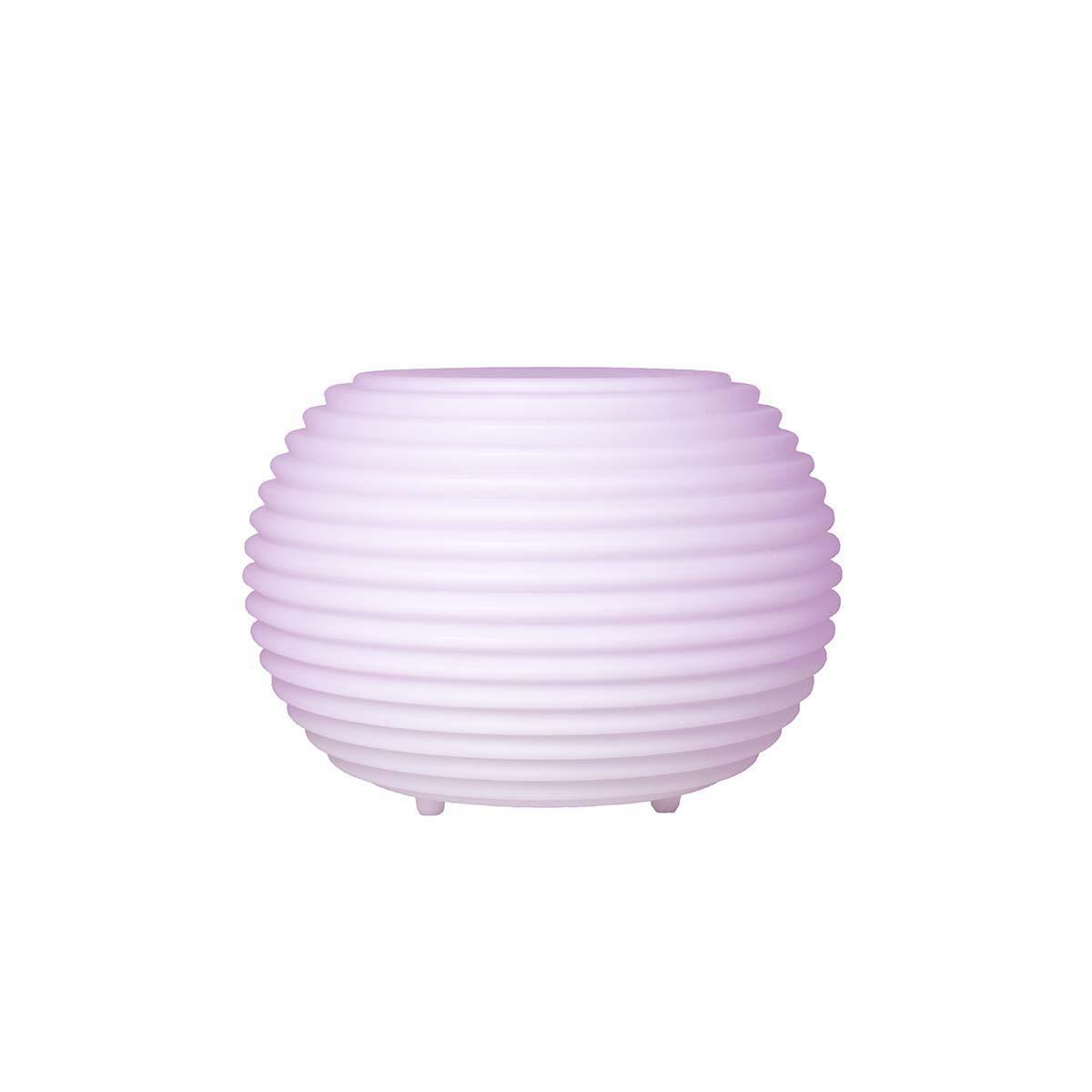 The.Pouf – Puff / Sidebord med Bluetooth Højttaler – Vandtæt – Hvid