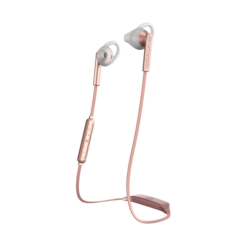 Billede af Urbanista Boston høretelefoner - in ear med go fit - bluetooth våd og svedtransporterende - Rose Gold