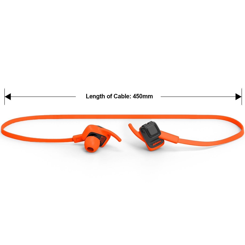 Jabees beatING Sport Trådløse Høretelefoner - Orange