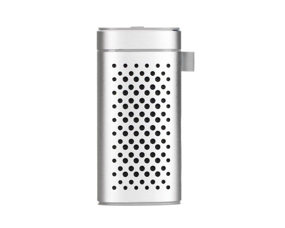 Image of   Pocket Fit Powerbank - 4400 mAh m. Indbygget Trådløs Højttaler - sølv