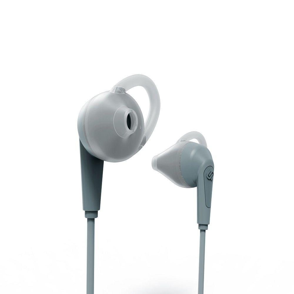 Billede af Urbanista Chicago høretelefoner - in ear med go fit - sport model med bluetooth - Cement blue