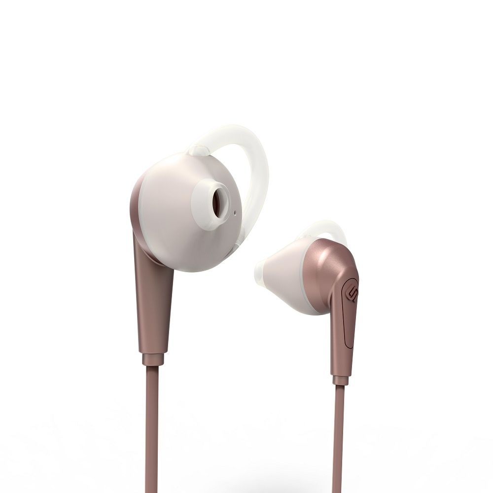 Billede af Urbanista Chicago høretelefoner - in ear med go fit - sport model med bluetooth - Rose gold