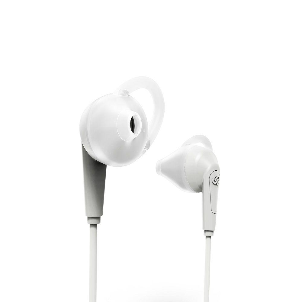 Billede af Urbanista Chicago høretelefoner - in ear med go fit - sport model med bluetooth - White mist