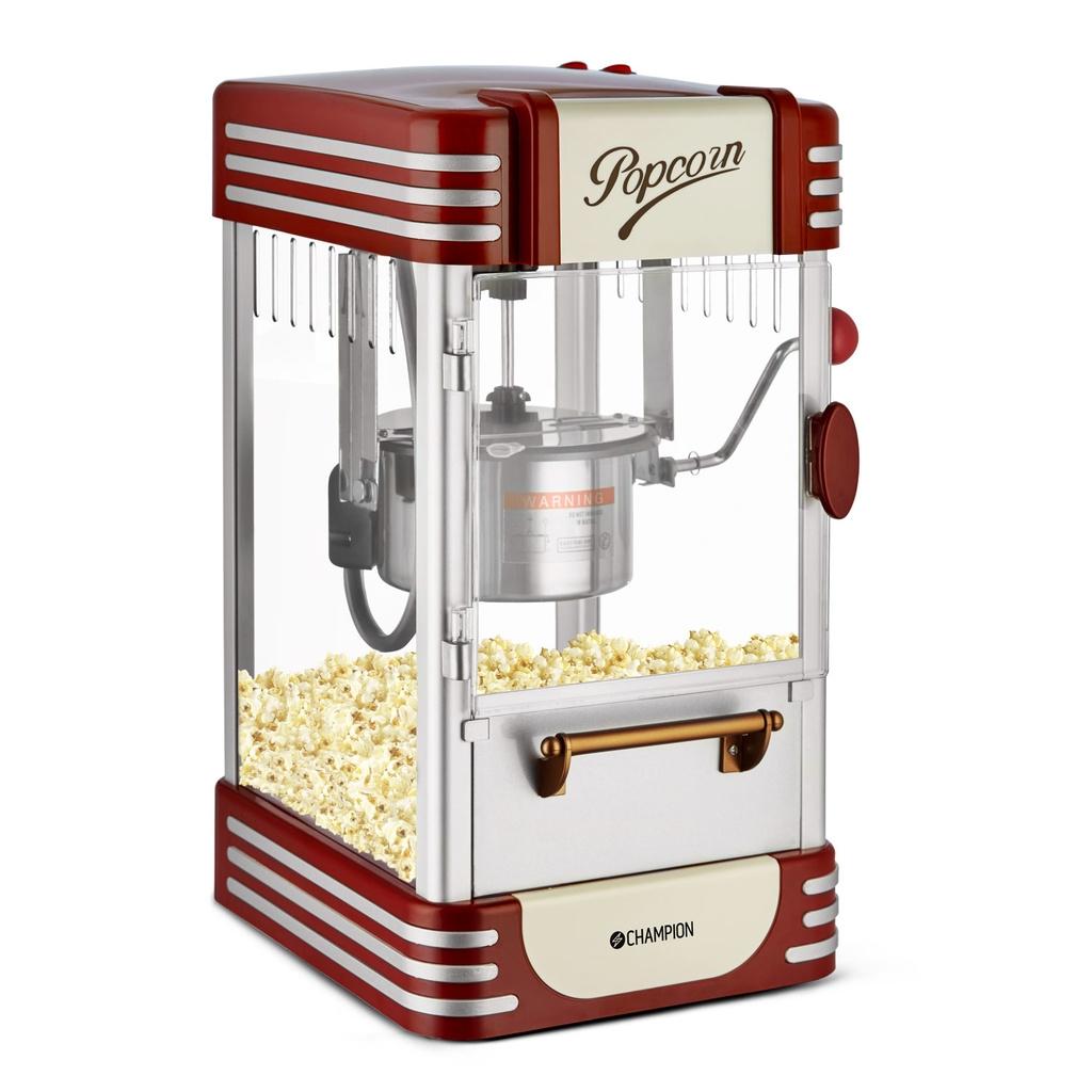 Billede af Popcornmaskine - Retro Deluxe - Indbygget lampe - Movie Time