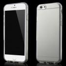 iPhone 6/6s - Blankt Holdbart BLødt TPU Gummi Etui - Transparent