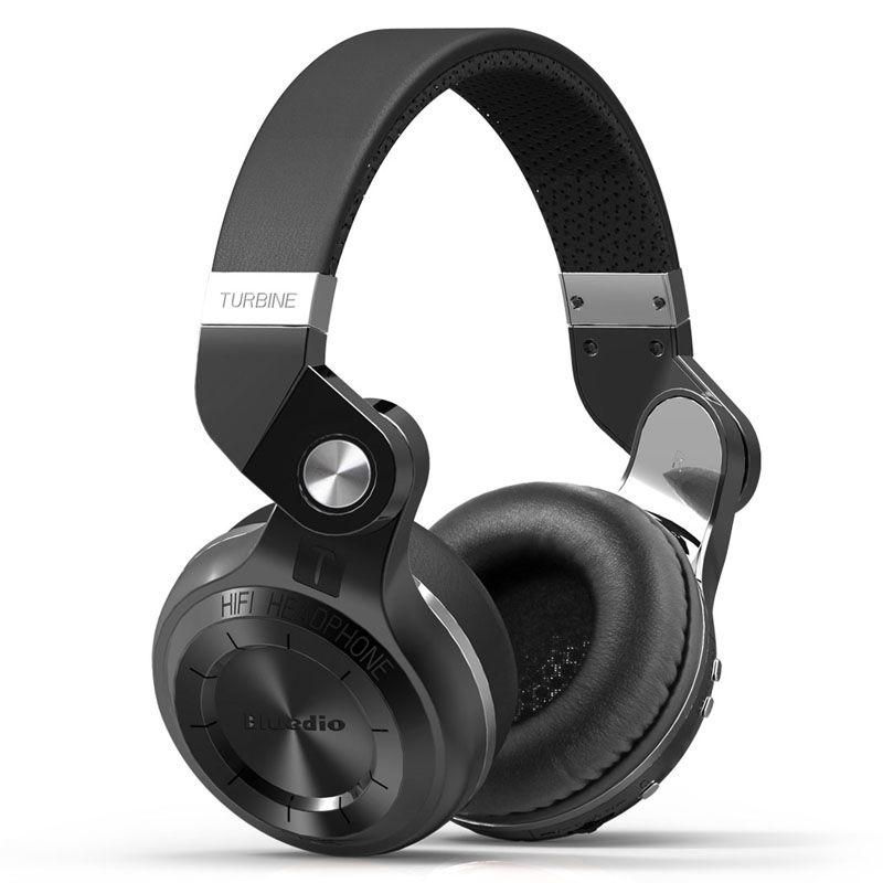 Billede af BLUEDIO T2S - Trådløse Bluetooth 5.0 Over-Ear Smart Høretelefoner - Sort
