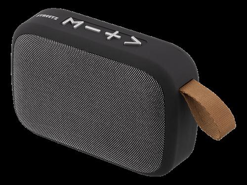 Bluetooth V5.0 Trådløs TWS højttaler – FM radio | Indbygget kontrolpanel – Sort