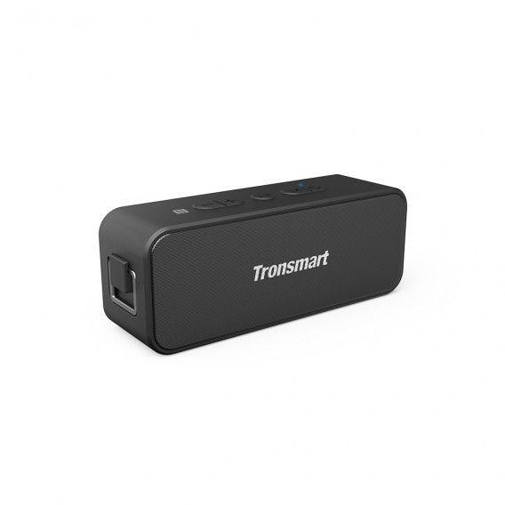 TRONSMART – T2 Plus – Trådløs Bluetooth højtaler – Vandtæt – Op til 24 TIMERS spilletid