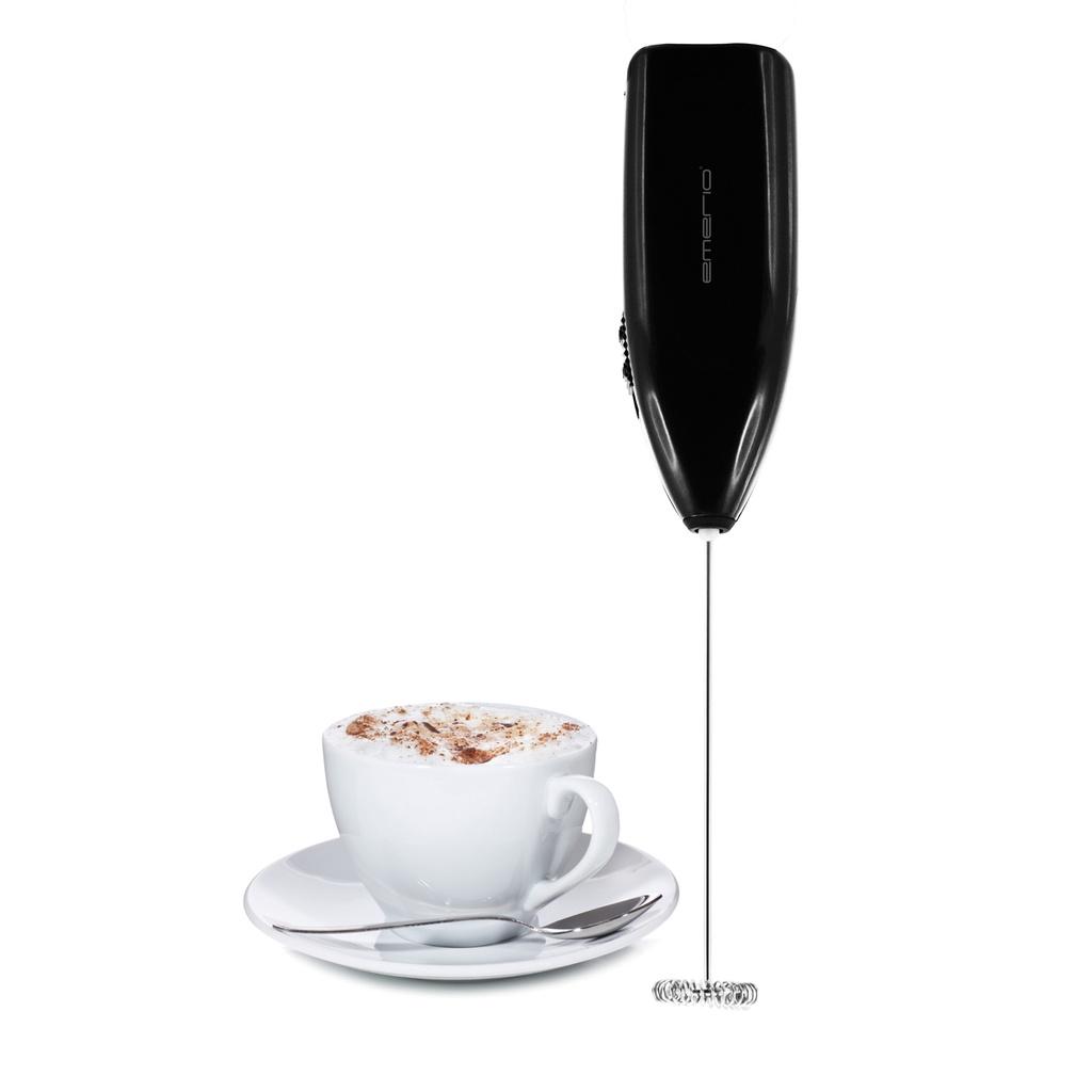 Billede af Elektrisk Mælkeskummer - On/off - Lav perfekte Cafe Latté - Sort