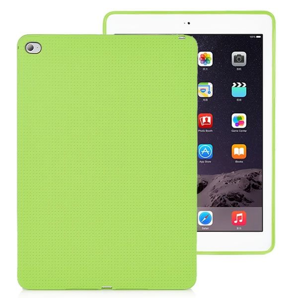 Image of   iPad Air 2 - Fresh color TPU etui / cover - Grøn