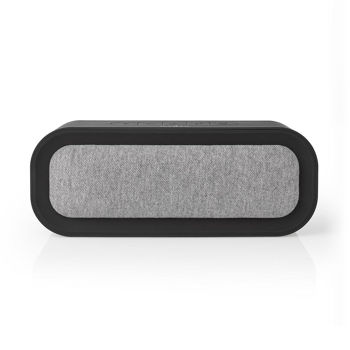 Bluetooth V5.0 højttaler – 6 Timers spilletid | 30 W | Vandtæt – Grå