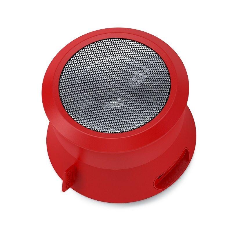 GIZMO VIBE 5XS Trådløs Bluetooth Højttaler – Rød