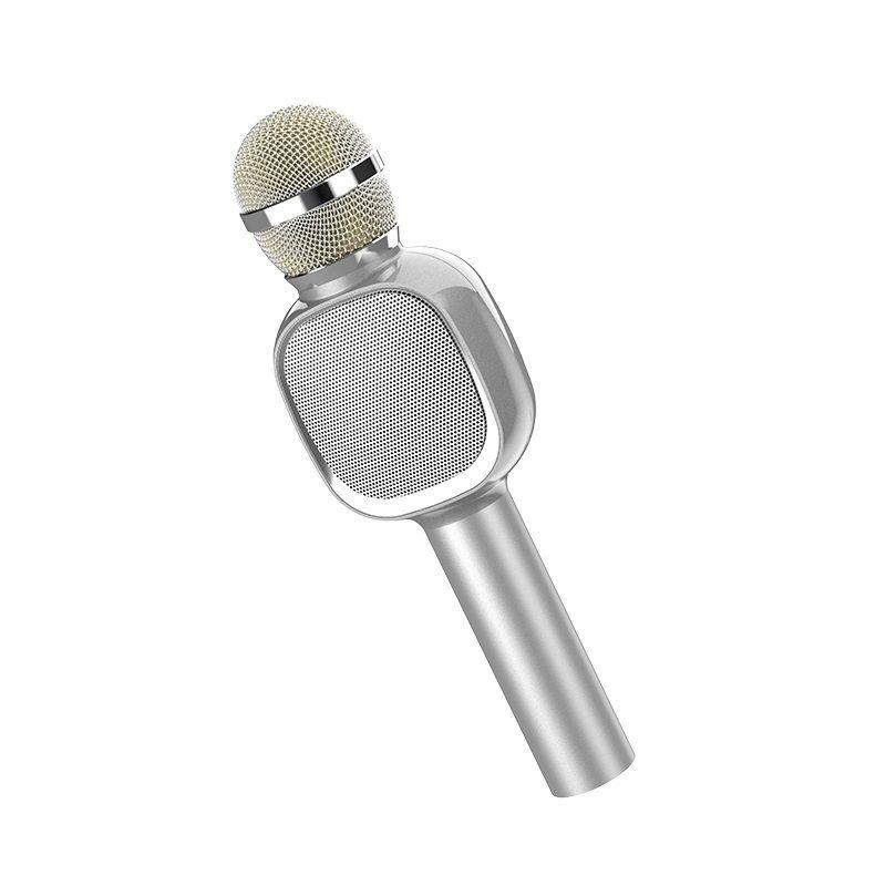 Image of   HOCO Soul Sound trådløs/bluetooth Højtaler - Mikrofon - Sølv
