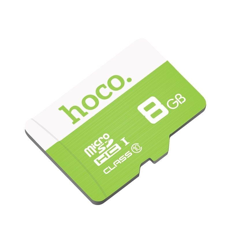 Image of   HOCO 8GB microSDHC / microSD hukommelseskort / memorycard - Class 10