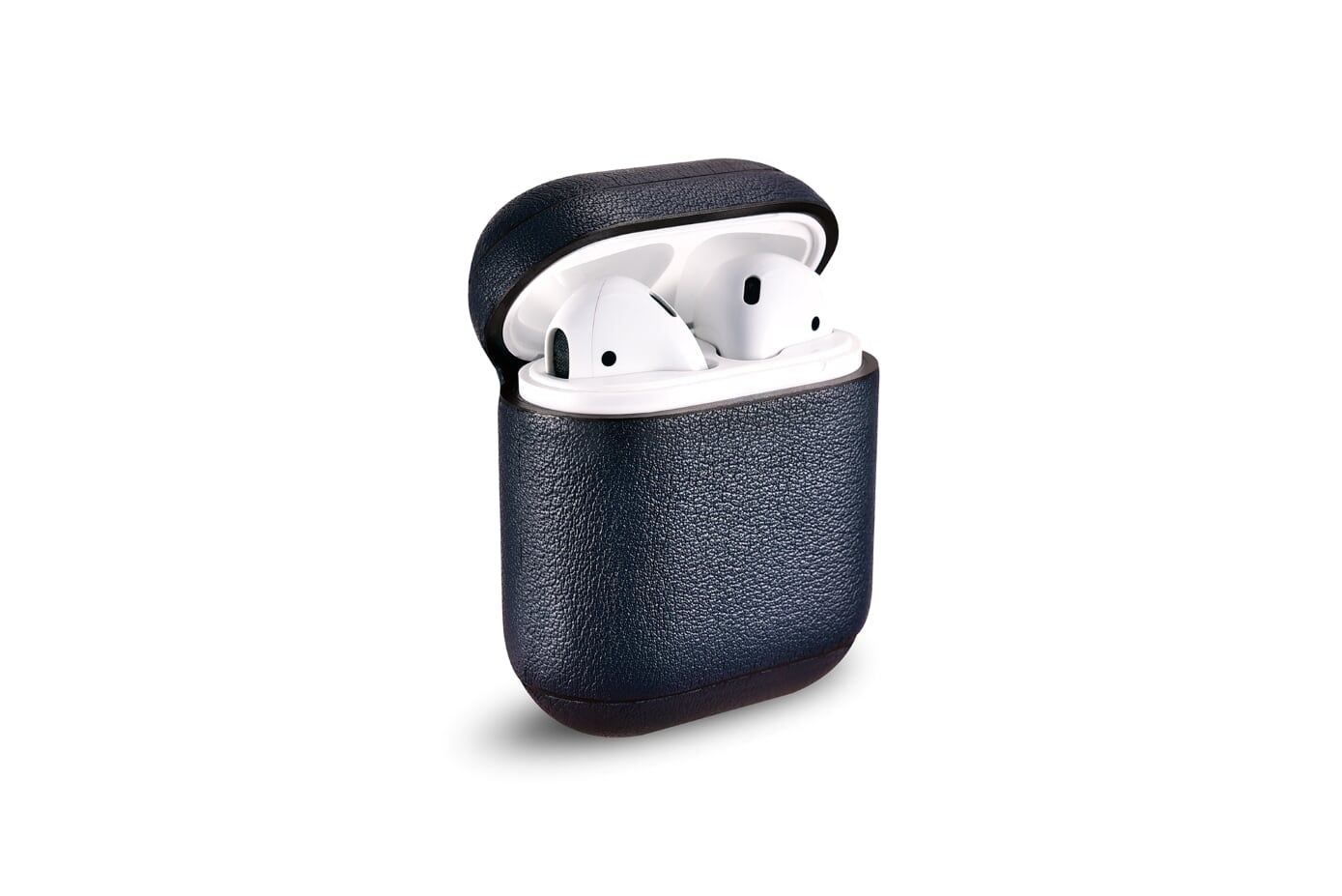 Image of   Apple AirPods - ICARER ægte læder cover - Blå