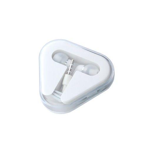 Image of   Høretelefoner Stereo In-ear 3.5mm m/mikrofon - Hvid