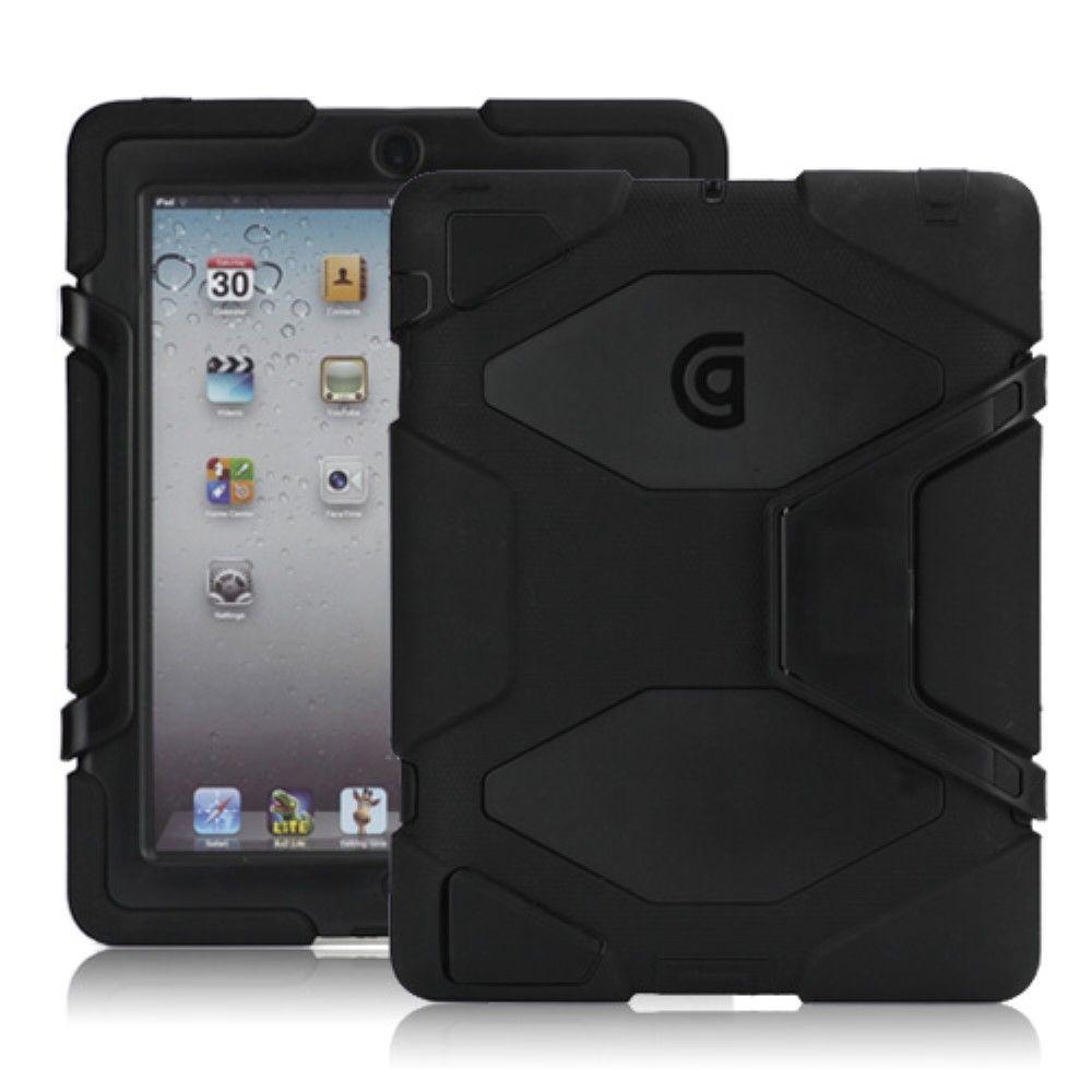 Image of   iPad 2/3/4 - Griffin Survivor hardcover - Sort