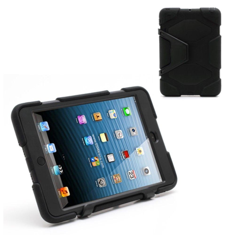 Image of   iPad Mini 1,2,3 - Military Duty Hybrid cover - Sort