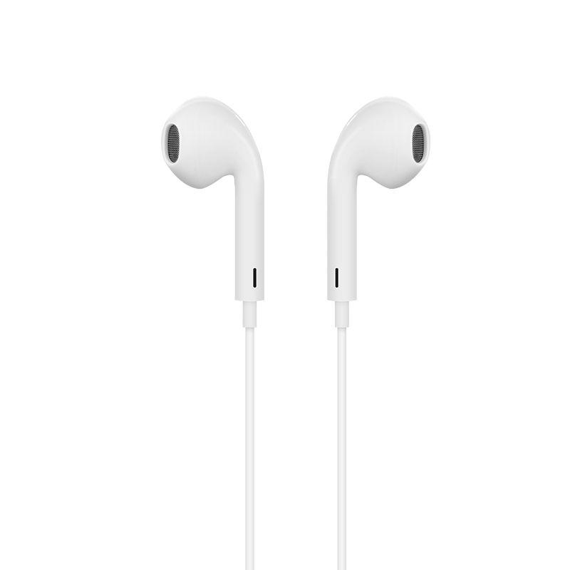 Image of Apple/iPhone - HOCO Original L7 - Høretelefoner m/Lightning kabel - Hvid