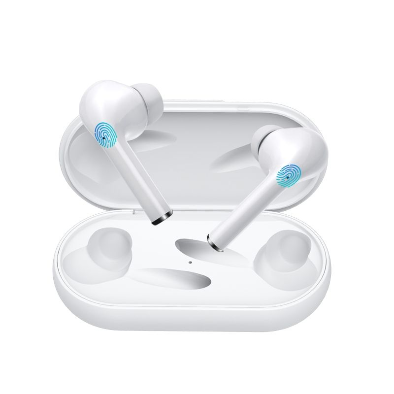 Billede af SOUND M6S - TWS Pro - Trådløse Bluetooth V5.0 Høretelefoner med Touch funktion & opladerbox - Hvid