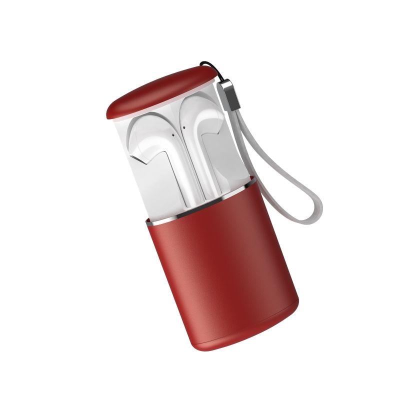 Billede af SOUND M9 - TWS EarPods - Trådløse Bluetooth V5.0 Høretelefoner med Touch funktion & opladerbox - Rød
