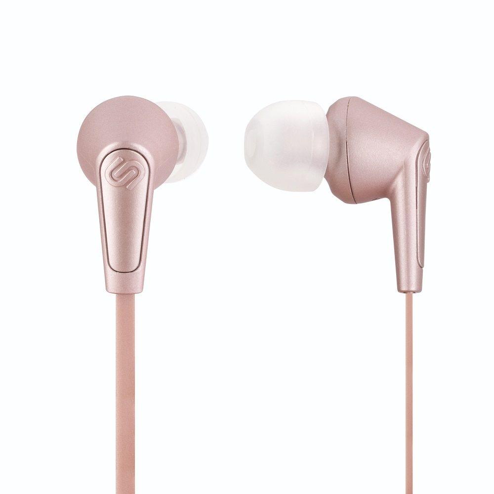 Billede af Urbanista Madrid in ear trådløs høretelefoner - bluetooth med flad ledning - Rose gold