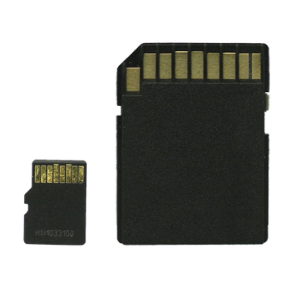 Image of   MicroSDHC hukommelseskort med SD Adapter - 16GB