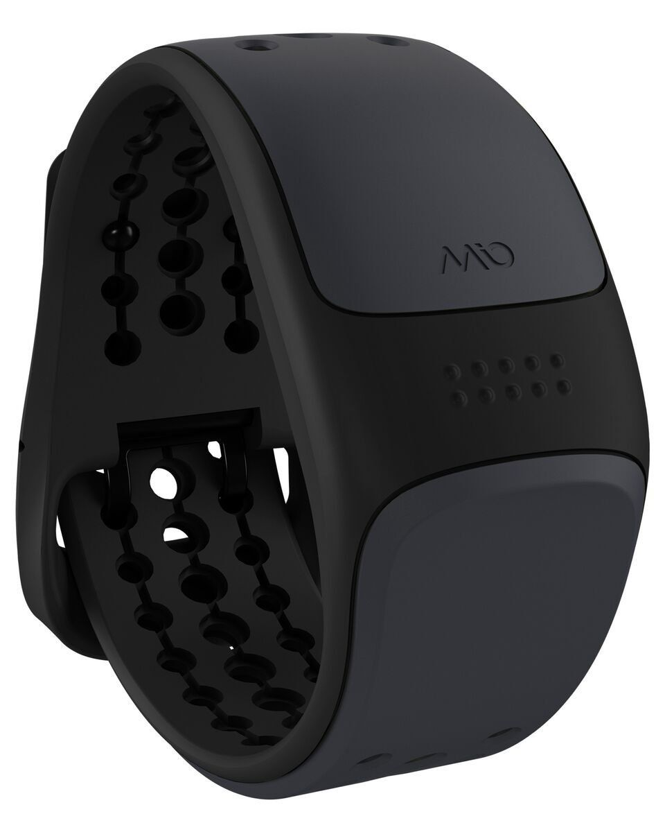 Mio Global Link - Pulsur til Smartphone/ Garmin / Suunto Small/Med - Grå/sort
