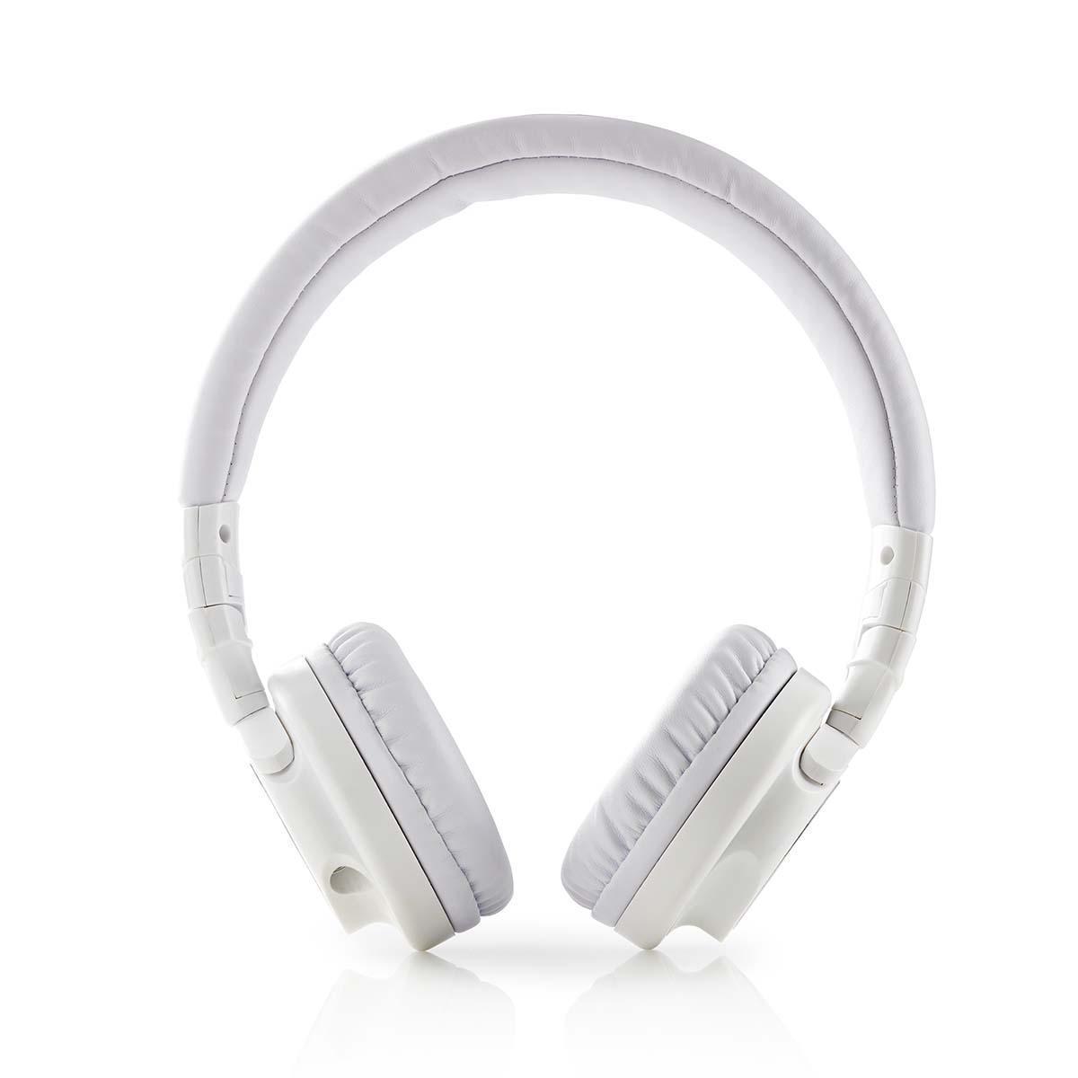 Billede af On-Ear Høretelefoner - Turbine Drivere 40mm - Audio 3.5mm Kabel 1.2m - Hvid