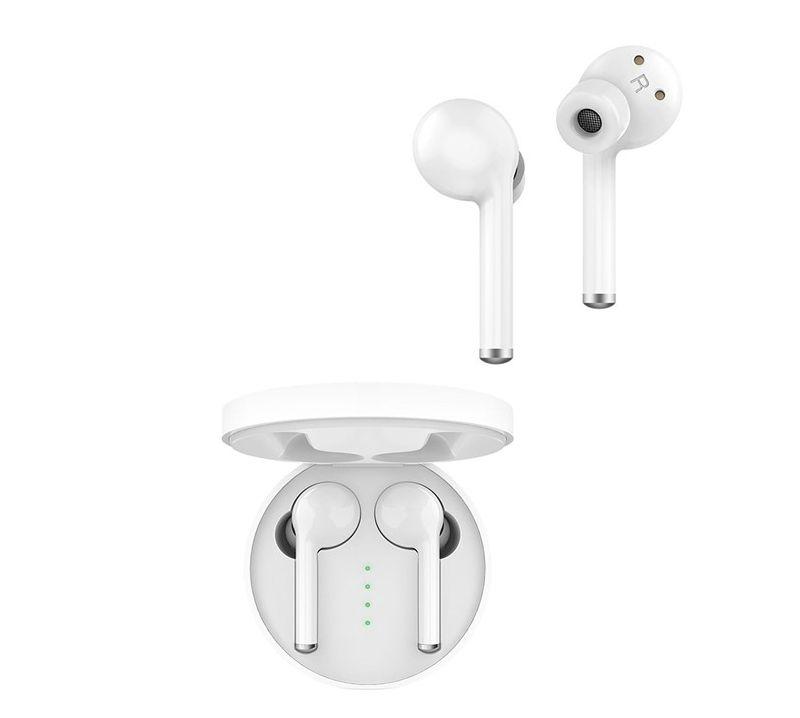 Billede af NorthFjords Pro+ EarPods Pro - Trådløse Høretelefoner med Touch funktion & opladerbox - Vandtætte/svedsikre - Hvid