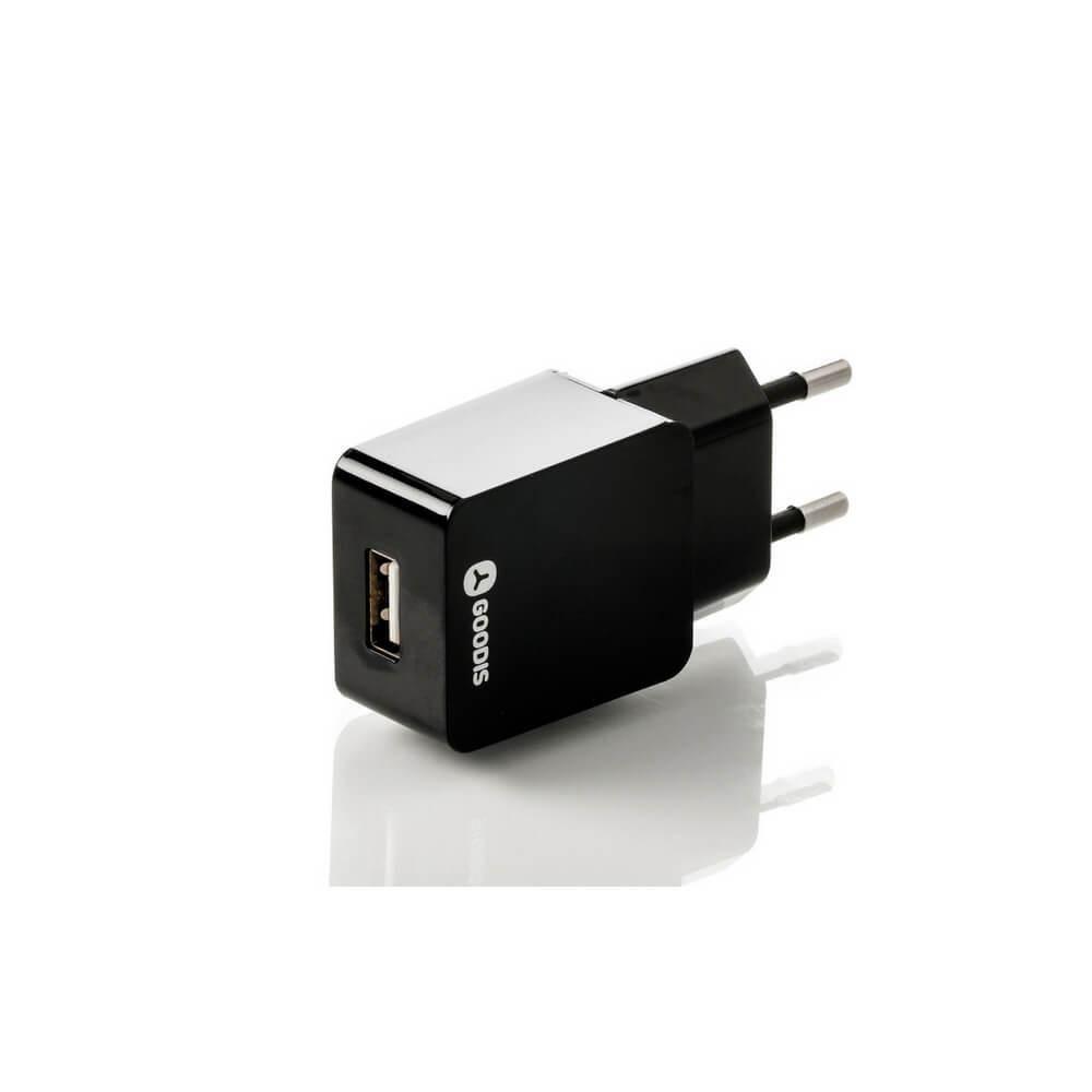 Image of   Oplader til Iphone Inkl. Ligtning Kabel, 5v 2,4 A