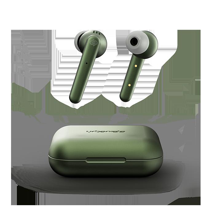 Billede af Urbanista Paris - trådløse høretelefoner med active noise cancelling - olive green