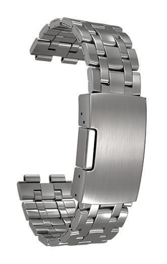 Image of   Pebble Steel Rem - Sølv