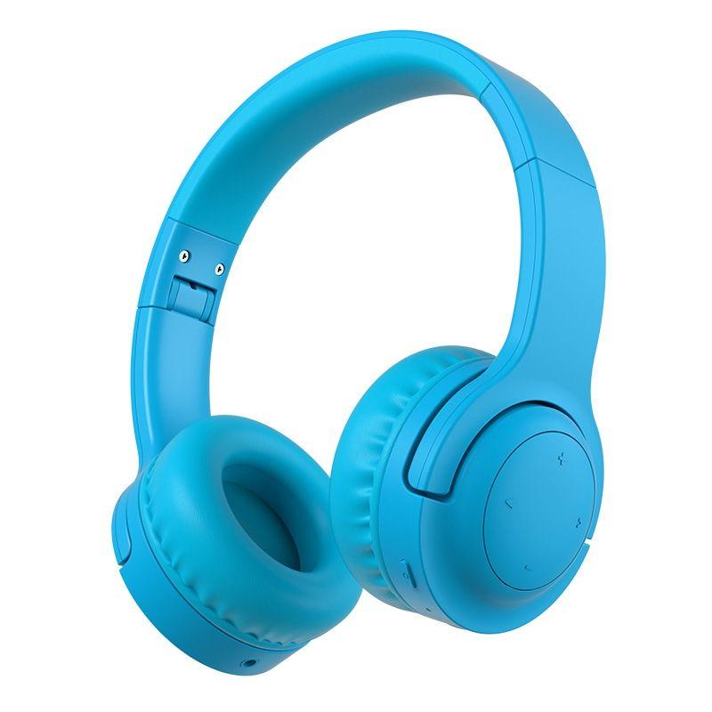 Billede af PICUN - Trådløse Høretelefoner til børn begrænset til 93db med mikrofon - Blå
