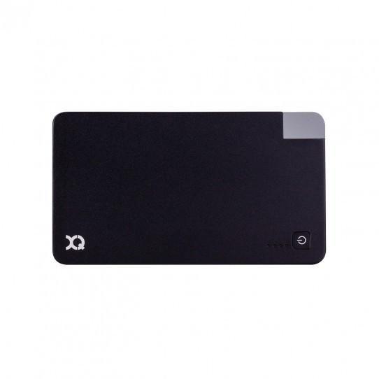 Xqisit Powerbank - 3000 mAh med indbygget USB oplader, sort