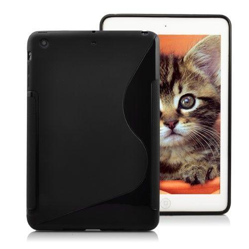 Image of   iPad mini 1/2/3 - S-Line design TPU cover / etui - Sort