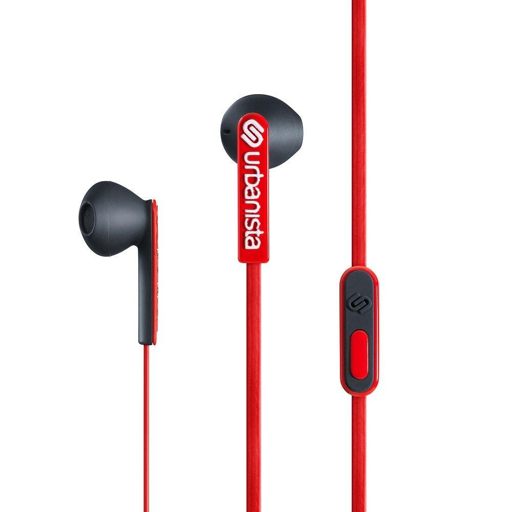 Billede af Urbanista San Francisco høretelefoner - in ear med musik kontrol - Red snapper