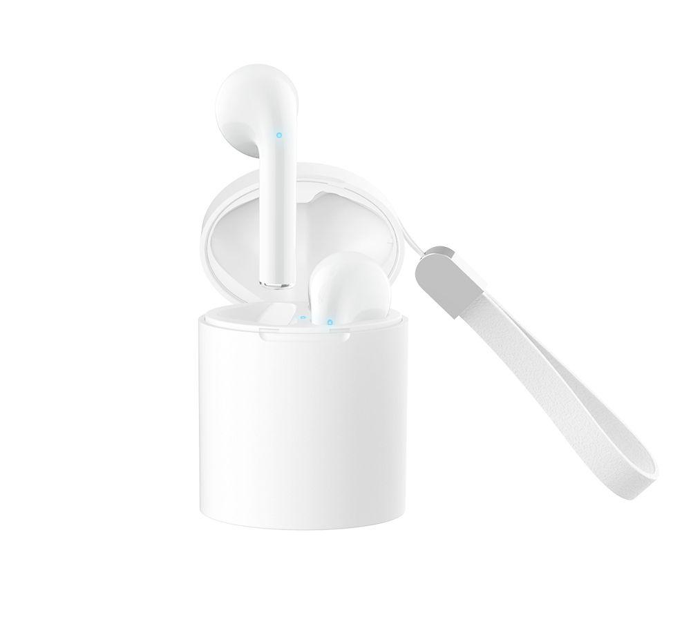 Billede af SOUND X10 - TWS Ear-Pods - Trådløse Bluetooth V5.0 Høretelefoner med Touch funktion & opladerbox - Hvid