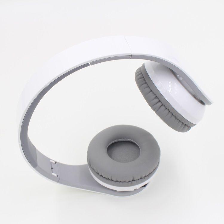 Image of   BL-09 - Trådløs Bluetooth Hovetelefon m/mikrofon - Hvid