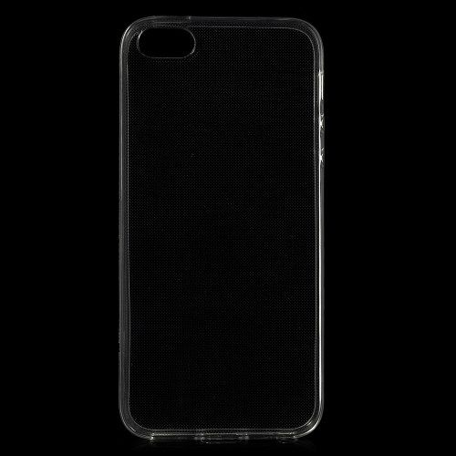 Image of   iPhone 5/5s/SE - Ultratyndt Blankt TPU Etui Cover - Transparent