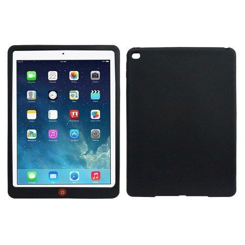 Image of   iPad Air 2 - Silikone Beskyttende Etui - Sort