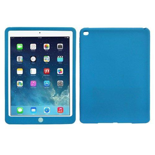 Image of   iPad Air 2 - Silikone Beskyttende Etui - Mørkeblå