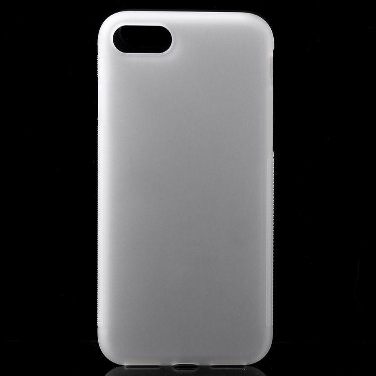 iPhone 7 - Spinkelt Skridsikkert TPU Gummi Cover - Transparent
