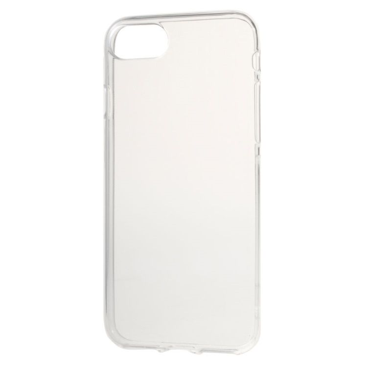 iPhone 7 - Transparent Blankt TPU Cover