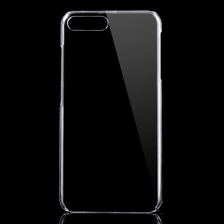 Image of   Iphone 7 Plus - Gennemsigtig PC Hardcover - Transparent
